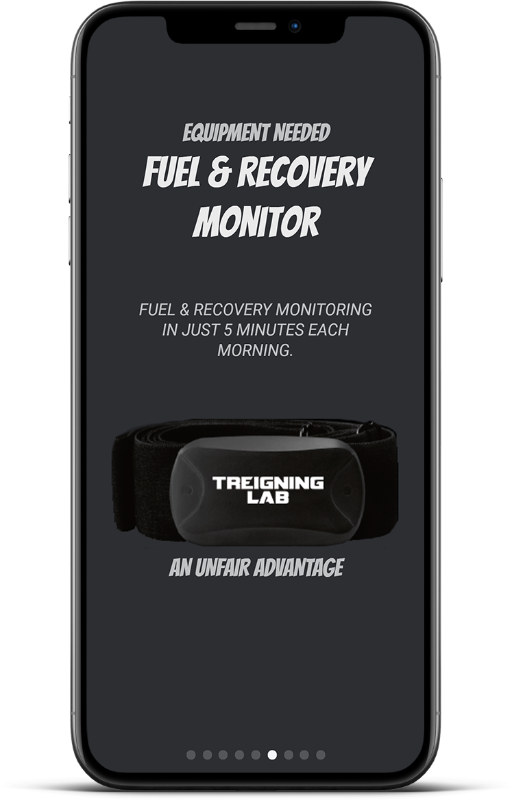 fuel and recovery monitoring like coach cal