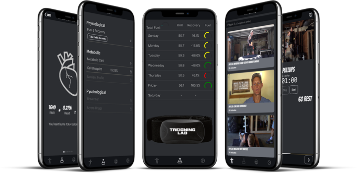 Phone app for recovery fuel and monitoring