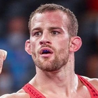 Wrestler David Taylor